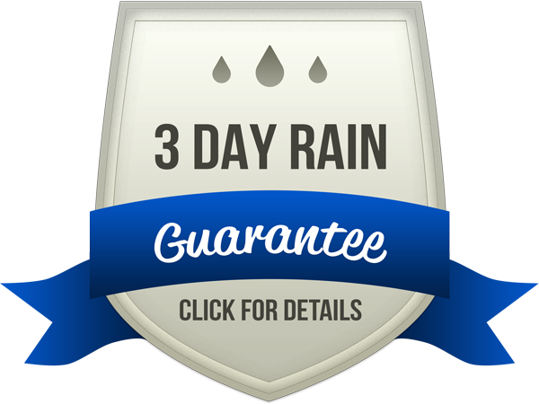 3 Day Rain Guarantee - Proshine Window Cleaning